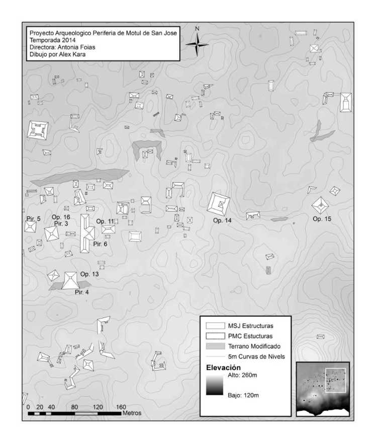 Map of Operations